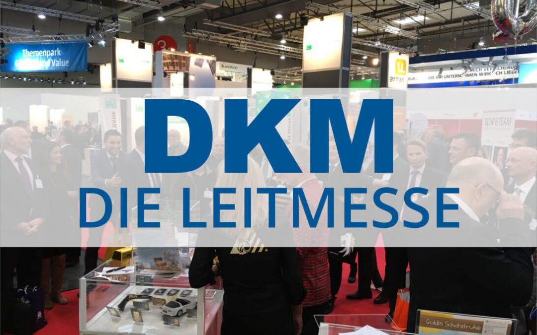 Stratega für GD 555 mit Stand auf der Leitmesse DKM